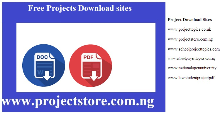 Free projects download sites